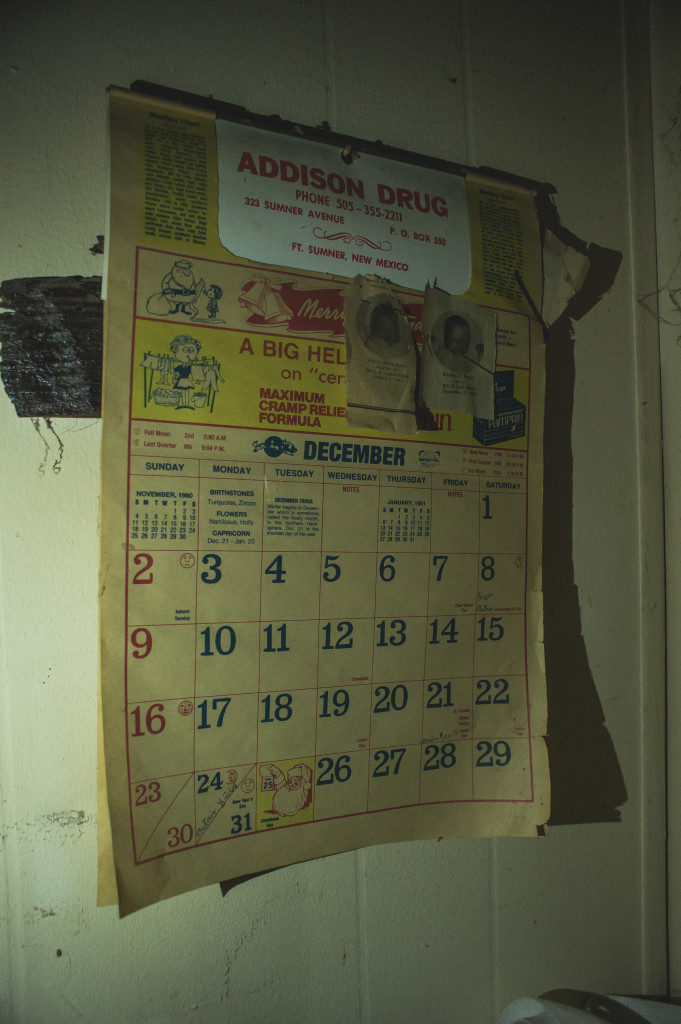 According to this calendar, the bando hadn't been lived in since 1990.